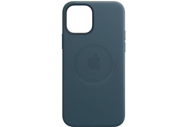 Apple Leder Case iPhone 12 mini mit MagSafe (baltischblau)