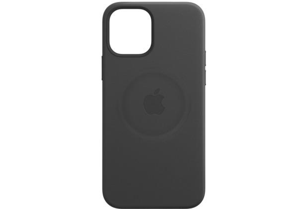 Apple Leder Case iPhone 12 mini mit MagSafe (schwarz)
