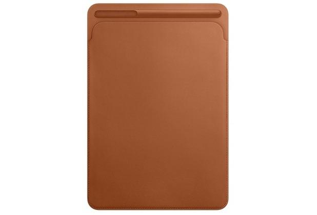 """Apple Lederhülle iPad Pro 10,5\"""" - sattelbraun"""