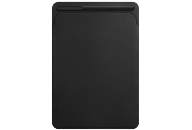 """Apple Lederhülle iPad Pro 10,5\"""" - schwarz"""
