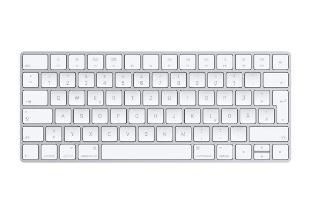 Apple Magic Keyboard, Bluetooth, kabellos