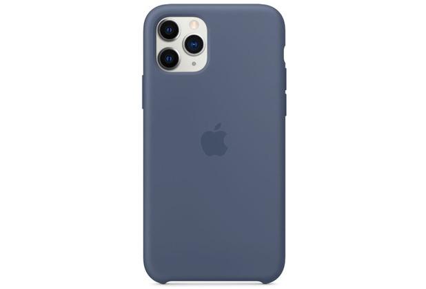Apple Silikon Case iPhone 11 Pro alaska blau
