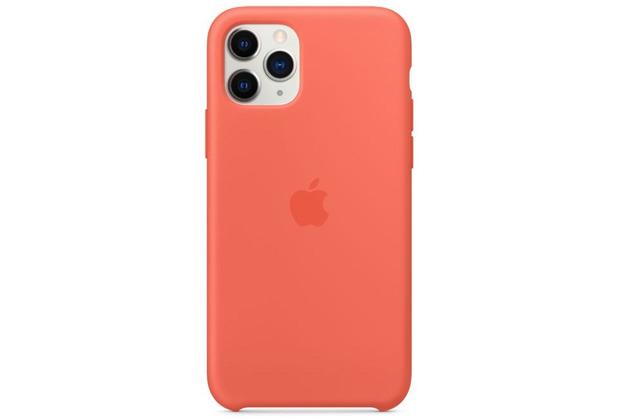 Apple Silikon Case iPhone 11 Pro clementine