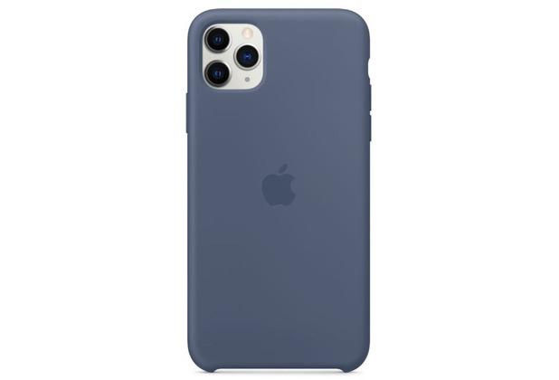 Apple Silikon Case iPhone 11 Pro Max alska blau