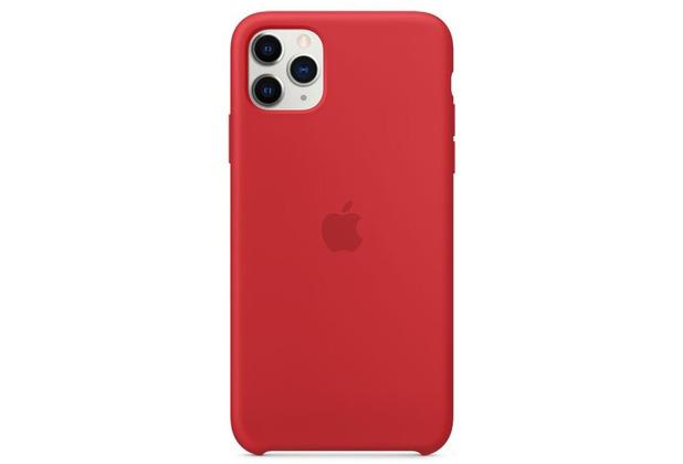 Apple Silikon Case iPhone 11 Pro Max rot