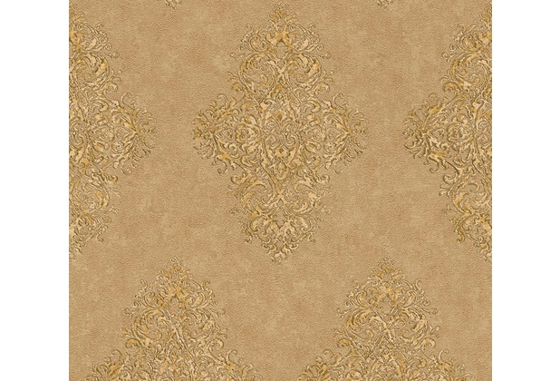 Architects Paper barocke Mustertapete Luxury Classics Vliestapete beige braun metallic 351104 10,05 m x 0,53 m