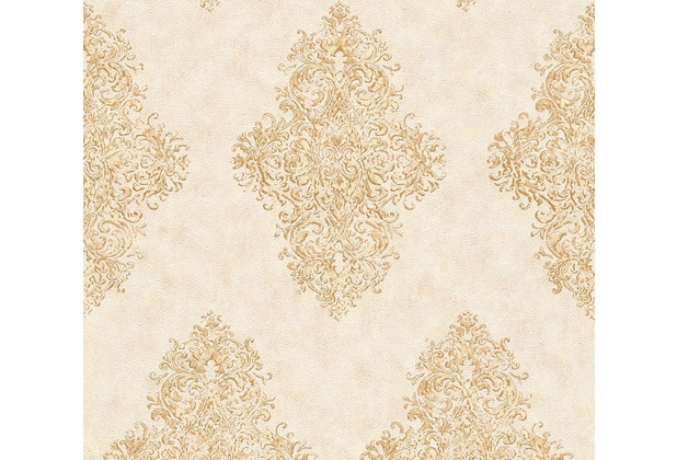 Architects Paper barocke Mustertapete Luxury Classics Vliestapete beige creme metallic 351101 10,05 m x 0,53 m