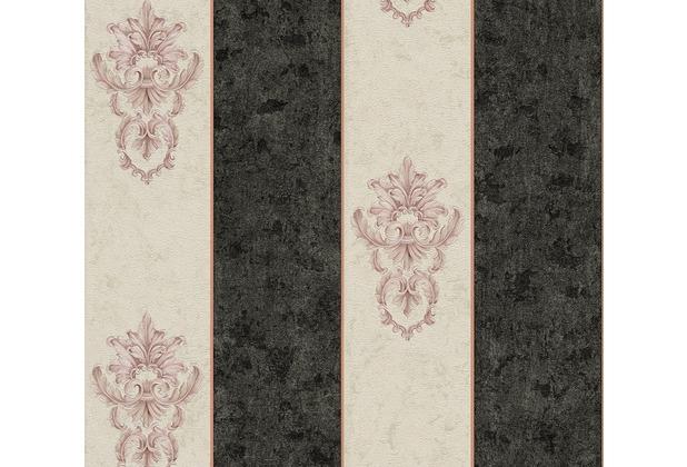 Architects Paper barocke Mustertapete Luxury Classics Vliestapete creme metallic schwarz 343712 10,05 m x 0,53 m