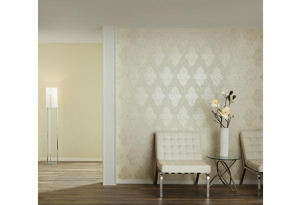 Architects Paper barocke Mustertapete Luxury Classics Vliestapete grün metallic 10,05 m x 0,53 m