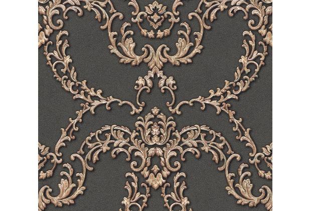 Architects Paper barocke Mustertapete Luxury Classics Vliestapete metallic rot schwarz 347772 10,05 m x 0,53 m