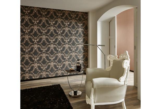 Architects Paper barocke Mustertapete Luxury Classics Vliestapete metallic rot schwarz 10,05 m x 0,53 m