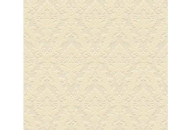 Architects Paper beflockte Vliestapete Castello Tapete beige 335821 10,05 m x 0,52 m