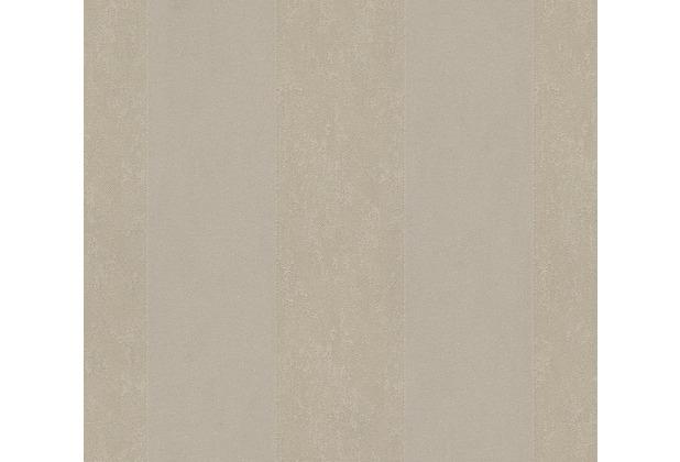 Architects Paper beflockte Vliestapete Castello Tapete braun metallic 335813 10,05 m x 0,52 m