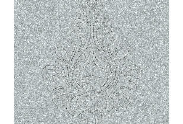 Architects Paper besticktes Panel Nobile, grün, metallic 969825 3,20 m x 0,70 m