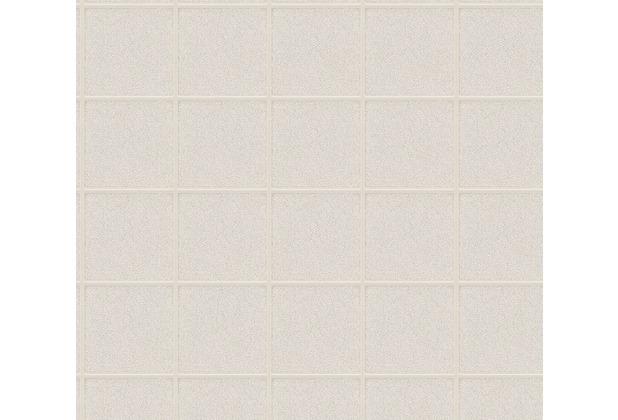 Architects Paper grafische Mustertapete Luxury wallpaper Tapete grau metallic weiß 306724 10,05 m x 0,53 m