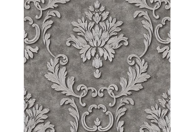 Architects Paper klassische Mustertapete Luxury wallpaper Tapete grau metallic 324225 10,05 m x 0,53 m