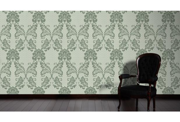 Architects Paper Klassische Mustertapete Mit Echtflock Luxury