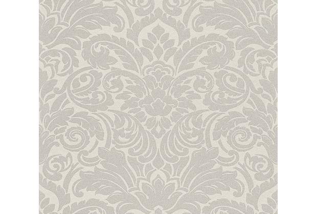 Architects Paper klassische Mustertapete mit Glasperlen Luxury wallpaper Vliestapete metallic creme 305451
