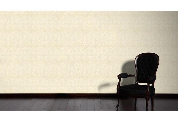 Architects Paper Mustertapete im Vintage Look Luxury Classics Vliestapete beige creme metallic 10,05 m x 0,53 m