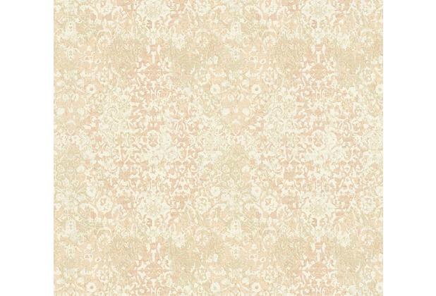 Architects Paper Mustertapete im Vintage Look Luxury Classics Vliestapete beige creme rosa 343754 10,05 m x 0,53 m