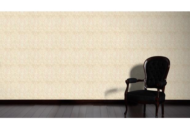 Architects Paper Mustertapete im Vintage Look Luxury Classics Vliestapete beige creme rosa 10,05 m x 0,53 m