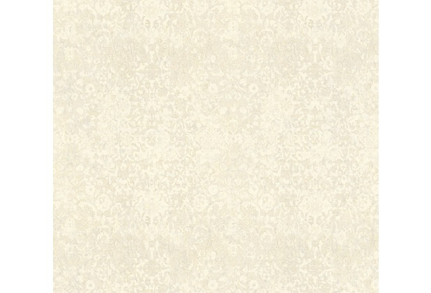Architects Paper Mustertapete im Vintage Look Luxury Classics Vliestapete creme grau metallic 343755 10,05 m x 0,53 m