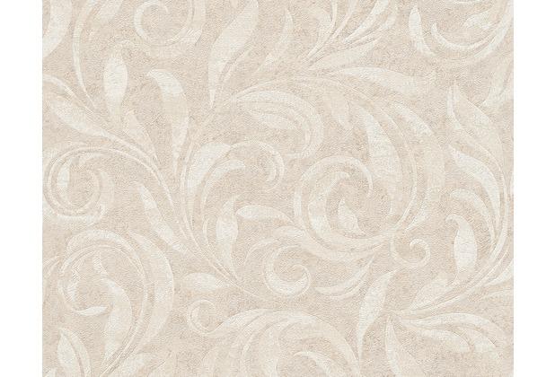 Architects Paper Mustertapete Nobile, Tapete, beige, creme, metallic 959401 10,05 m x 0,70 m