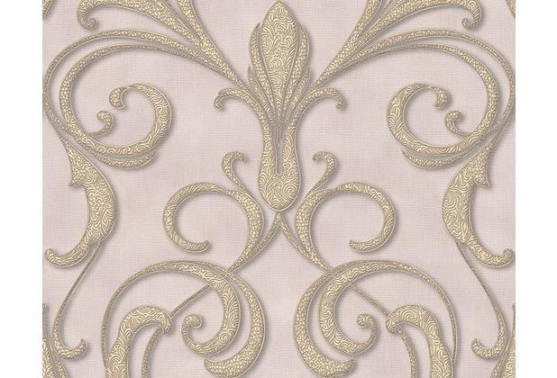 Architects Paper Mustertapete Nobile, Tapete, braun, metallic, lila 958922 10,05 m x 0,70 m