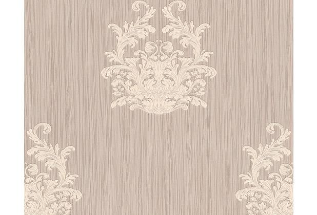 Architects Paper Mustertapete Nobile, Tapete, metallic, lila 958613 10,05 m x 0,70 m