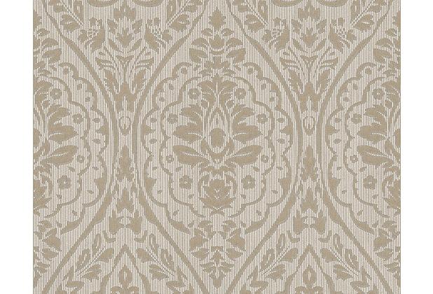 Architects Paper Mustertapete Tessuto 2, Textiltapete, beige, braun 961956