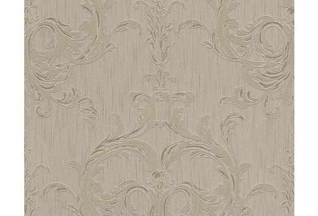 Architects Paper Mustertapete Tessuto 2, Textiltapete, beige, braun 961963