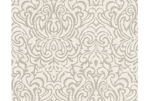 Architects Paper Mustertapete Tessuto 2, Textiltapete, beige, creme 961933