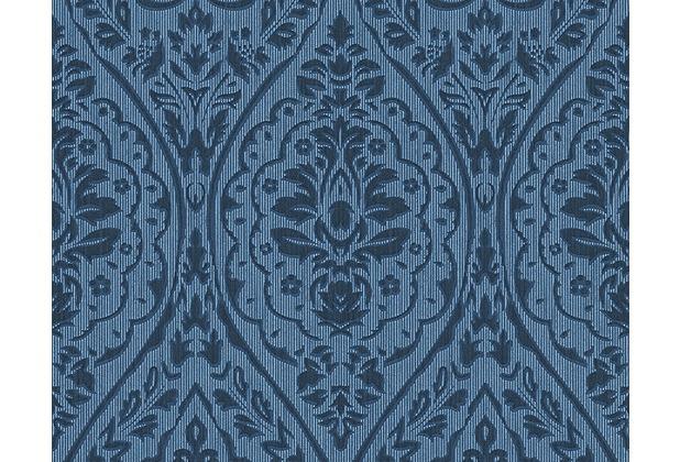 Architects Paper Mustertapete Tessuto 2, Textiltapete, blau 961958