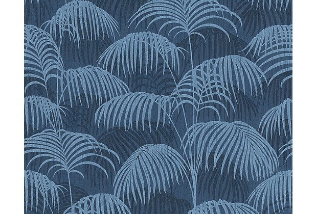 Architects Paper Mustertapete Tessuto 2, Textiltapete, blau 961983