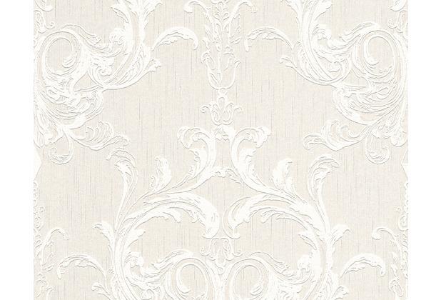 Architects Paper Mustertapete Tessuto 2, Textiltapete, creme, weiß 961962