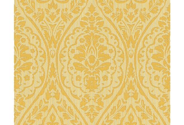 Architects Paper Mustertapete Tessuto 2, Textiltapete, gelb 961951