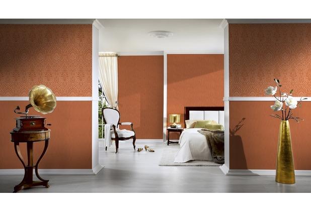 Architects Paper Mustertapete Tessuto 2, Textiltapete, orange