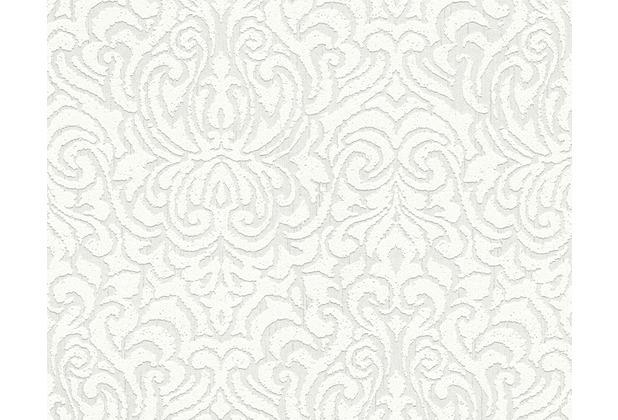 Architects Paper Mustertapete Tessuto 2, Textiltapete, weiß 961932