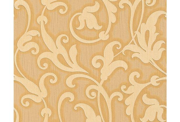 Architects Paper Mustertapete Tessuto, Textiltapete, beige, braunbeige, hellelfenbein 954903 10,05 m x 0,53 m