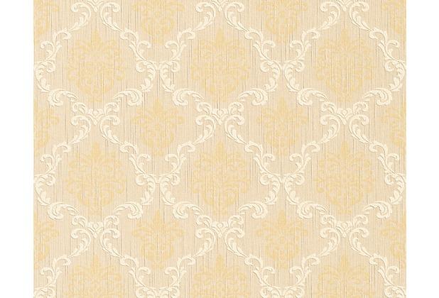 Architects Paper Mustertapete Tessuto, Textiltapete, hellelfenbein, braunbeige 956292 10,05 m x 0,53 m