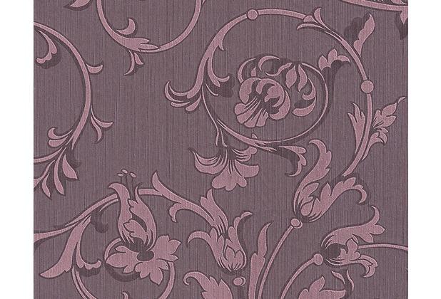 Architects Paper Mustertapete Tessuto, Textiltapete, pastellviolett, purpurviolett 956335 10,05 m x 0,53 m