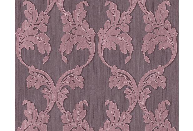 Architects Paper Mustertapete Tessuto, Textiltapete, pastellviolett, rotlila 956285 10,05 m x 0,53 m