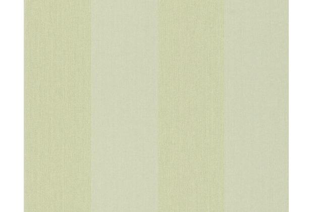 Architects Paper Streifentapete mit Glitter Haute Couture 3, Textiltapete, grün, metallic 290731 10,05 m x 0,53 m