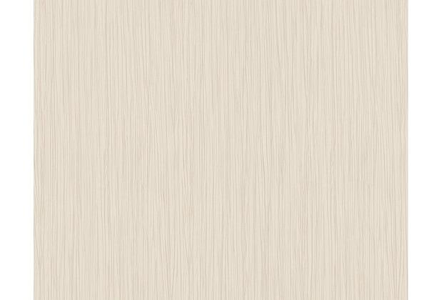 Architects Paper Streifentapete Nobile, Tapete, creme, metallic 958624 10,05 m x 0,70 m