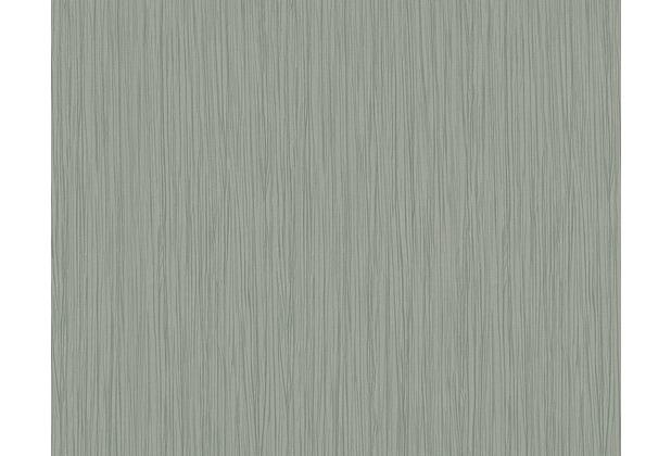 Architects Paper Streifentapete Nobile, Tapete, grau, metallic 958622 10,05 m x 0,70 m