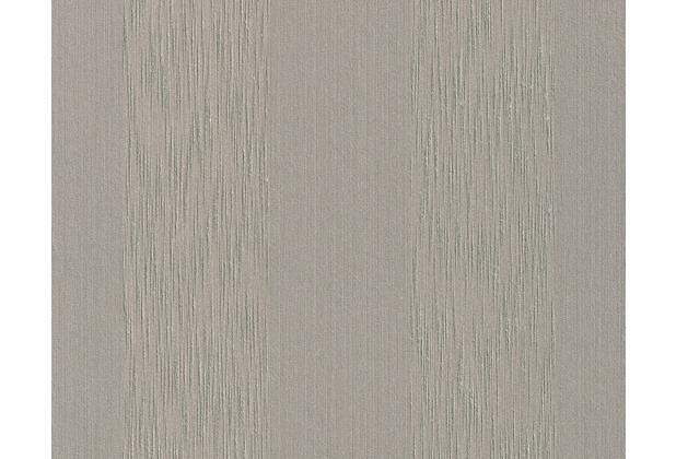 Architects Paper Streifentapete Tessuto, Textiltapete, graubeige 956607 10,05 m x 0,53 m