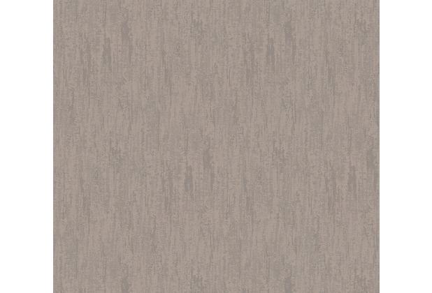 Architects Paper Textiltapete Di Seta Tapete dunkelgrau metallic 366719 10,05 m x 0,70 m