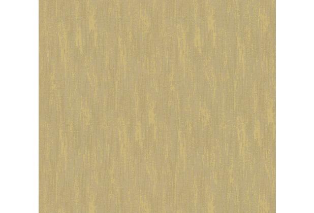 Architects Paper Textiltapete Di Seta Tapete grünbeige metallic 366794 10,05 m x 0,70 m