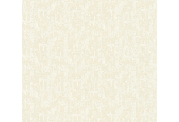 Architects Paper Textiltapete Di Seta Tapete hellgrau weiß metallic 366702 10,05 m x 0,70 m