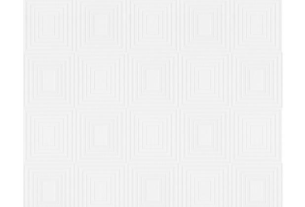 Architects Paper überstreichbare Vliestapete Pigment 5th Wall, weiß 952991 25,00 m x 0,75 m